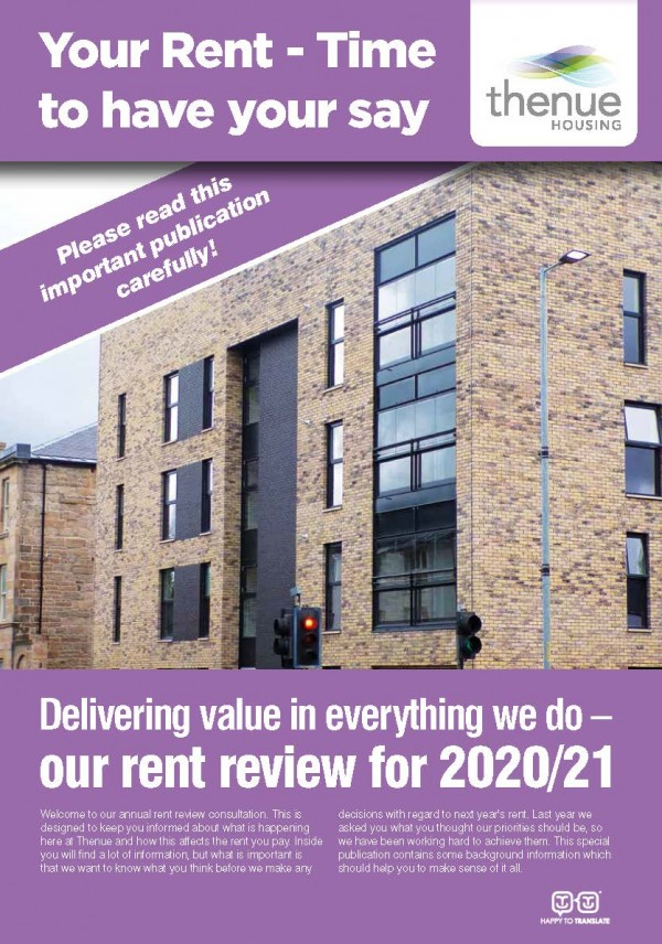 Rent Increase Consultation