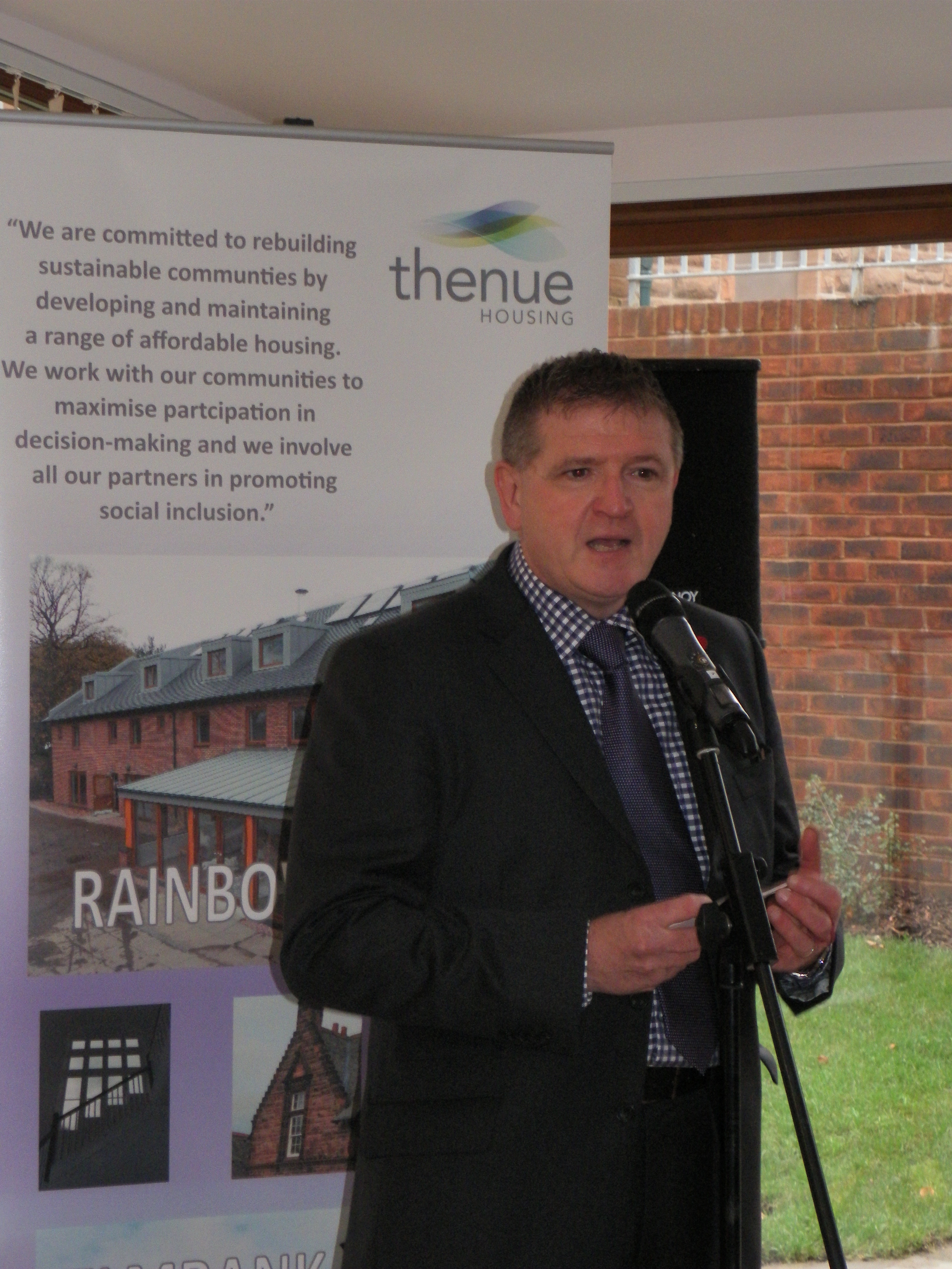 - Charles Turner, Thenue Housing Chief Executive